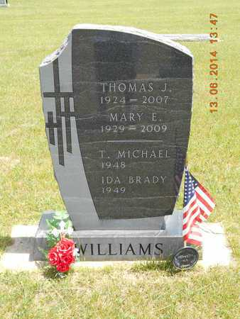 WILLIAMS, T. MICHAEL - Branch County, Michigan | T. MICHAEL WILLIAMS - Michigan Gravestone Photos