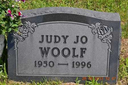 WOOLF, JUDY JO - Branch County, Michigan | JUDY JO WOOLF - Michigan Gravestone Photos