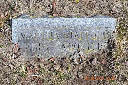 STAFFORD WOOSTER, MARTHA - Branch County, Michigan | MARTHA STAFFORD WOOSTER - Michigan Gravestone Photos