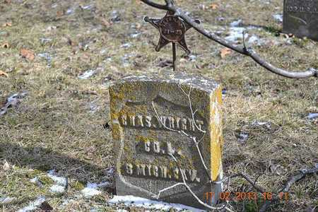WRIGHT, CHARLES - Branch County, Michigan | CHARLES WRIGHT - Michigan Gravestone Photos