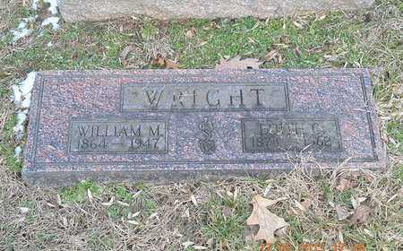 WRIGHT, WILLIAM M. - Branch County, Michigan | WILLIAM M. WRIGHT - Michigan Gravestone Photos