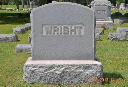 WRIGHT, FAMILY - Branch County, Michigan | FAMILY WRIGHT - Michigan Gravestone Photos