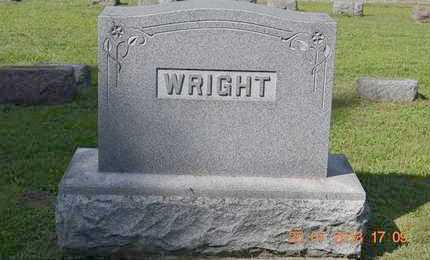 WRIGHT, FAMILY - Branch County, Michigan   FAMILY WRIGHT - Michigan Gravestone Photos