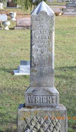 WRIGHT, GILBERT - Branch County, Michigan | GILBERT WRIGHT - Michigan Gravestone Photos