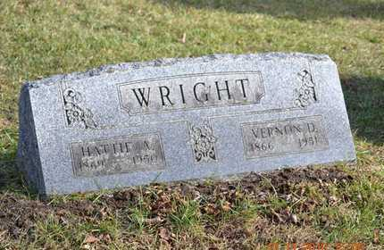 WRIGHT, VERNON D. - Branch County, Michigan | VERNON D. WRIGHT - Michigan Gravestone Photos