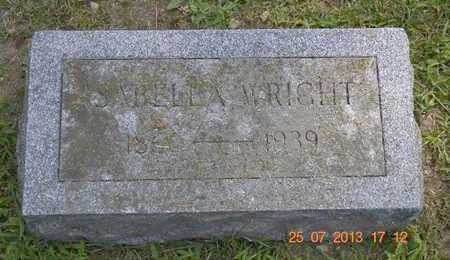 WRIGHT, ISABELLA - Branch County, Michigan | ISABELLA WRIGHT - Michigan Gravestone Photos