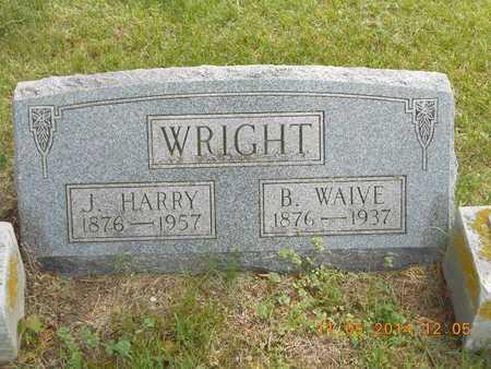 WRIGHT, J. HARRY - Branch County, Michigan | J. HARRY WRIGHT - Michigan Gravestone Photos