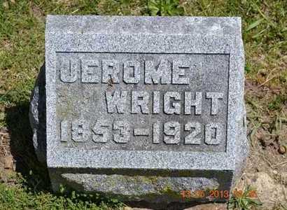 WRIGHT, JEROME - Branch County, Michigan | JEROME WRIGHT - Michigan Gravestone Photos