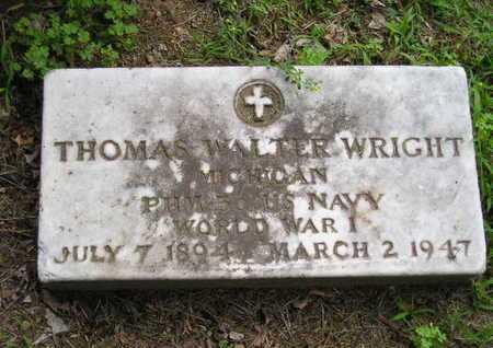 WRIGHT, THOMAS WALTER - Branch County, Michigan | THOMAS WALTER WRIGHT - Michigan Gravestone Photos