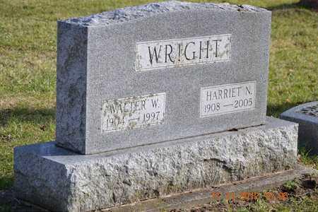 WRIGHT, HARRIET N. - Branch County, Michigan | HARRIET N. WRIGHT - Michigan Gravestone Photos
