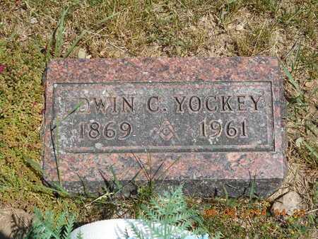 YOCKEY, EDWIN C. - Branch County, Michigan | EDWIN C. YOCKEY - Michigan Gravestone Photos