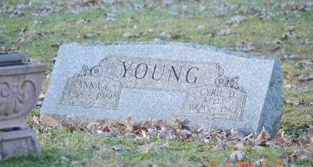 YOUNG, ANNA E. - Branch County, Michigan | ANNA E. YOUNG - Michigan Gravestone Photos