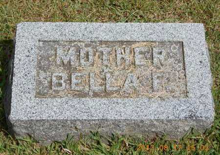 YOUNG, BELLA F. - Branch County, Michigan   BELLA F. YOUNG - Michigan Gravestone Photos
