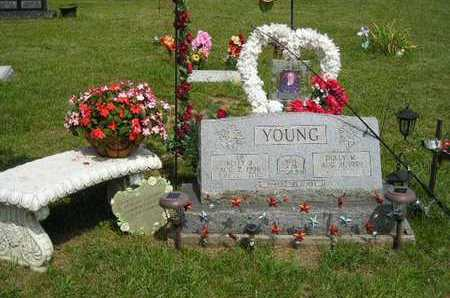 YOUNG, KELLY J. - Branch County, Michigan | KELLY J. YOUNG - Michigan Gravestone Photos