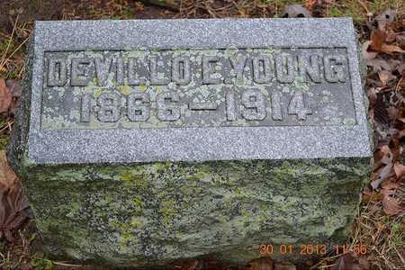 YOUNG, DEVILLO E. - Branch County, Michigan | DEVILLO E. YOUNG - Michigan Gravestone Photos