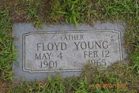 YOUNG, FLOYD - Branch County, Michigan | FLOYD YOUNG - Michigan Gravestone Photos