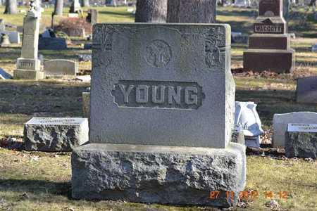 YOUNG, FAMILY - Branch County, Michigan   FAMILY YOUNG - Michigan Gravestone Photos