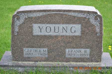 YOUNG, GERTRUE M. - Branch County, Michigan | GERTRUE M. YOUNG - Michigan Gravestone Photos