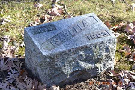 YOUNG, ISABELLA - Branch County, Michigan | ISABELLA YOUNG - Michigan Gravestone Photos