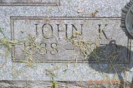 YOUNG, JOHN K. - Branch County, Michigan   JOHN K. YOUNG - Michigan Gravestone Photos