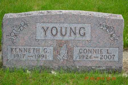 YOUNG, CONNIE L. - Branch County, Michigan | CONNIE L. YOUNG - Michigan Gravestone Photos