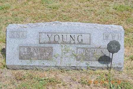YOUNG, LELAH H. - Branch County, Michigan | LELAH H. YOUNG - Michigan Gravestone Photos
