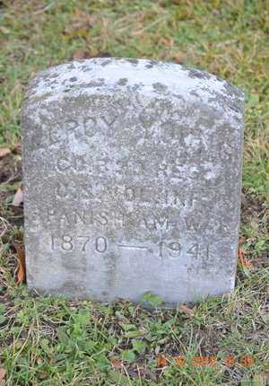 YOUNG, LEROY - Branch County, Michigan | LEROY YOUNG - Michigan Gravestone Photos