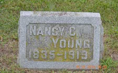 YOUNG, NANCY C. - Branch County, Michigan | NANCY C. YOUNG - Michigan Gravestone Photos
