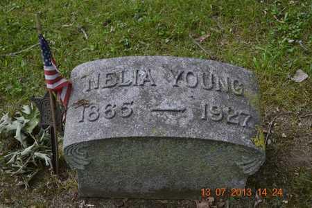YOUNG, NELIA - Branch County, Michigan | NELIA YOUNG - Michigan Gravestone Photos