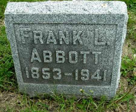 ABBOTT, FRANK L - Calhoun County, Michigan | FRANK L ABBOTT - Michigan Gravestone Photos