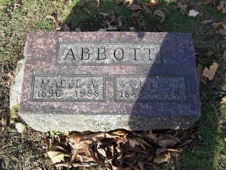ABBOTT, MABEL A. - Calhoun County, Michigan   MABEL A. ABBOTT - Michigan Gravestone Photos