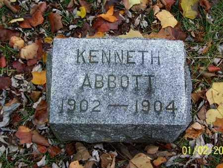 ABBOTT, KENNETH - Calhoun County, Michigan | KENNETH ABBOTT - Michigan Gravestone Photos