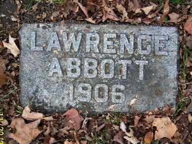 ABBOTT, LAWRENCE - Calhoun County, Michigan | LAWRENCE ABBOTT - Michigan Gravestone Photos