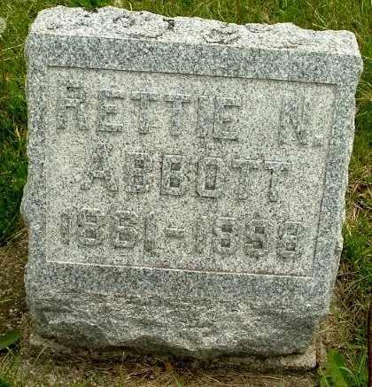 ABBOTT, RETTIE - Calhoun County, Michigan   RETTIE ABBOTT - Michigan Gravestone Photos