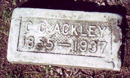 ACKLEY, C. C. - Calhoun County, Michigan | C. C. ACKLEY - Michigan Gravestone Photos