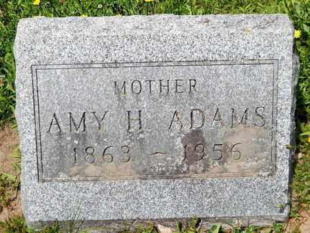 ADAMS, AMY H. - Calhoun County, Michigan | AMY H. ADAMS - Michigan Gravestone Photos