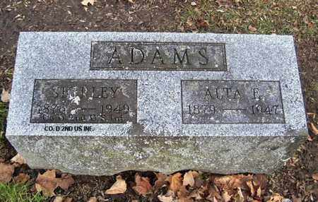 ADAMS, ALTA - Calhoun County, Michigan | ALTA ADAMS - Michigan Gravestone Photos