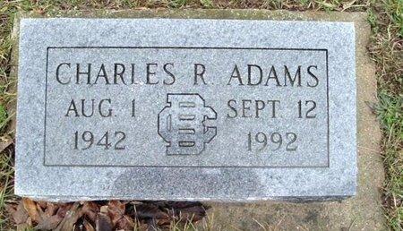 ADAMS, CHARLES R. - Calhoun County, Michigan | CHARLES R. ADAMS - Michigan Gravestone Photos