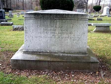 ADAMS, CHARLES M. - Calhoun County, Michigan | CHARLES M. ADAMS - Michigan Gravestone Photos
