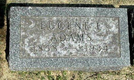 ADAMS, EUGENE E - Calhoun County, Michigan | EUGENE E ADAMS - Michigan Gravestone Photos