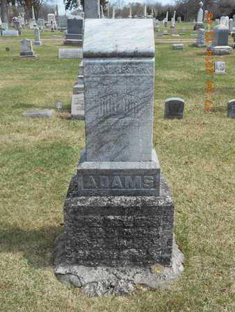 ADAMS, FAMILY - Calhoun County, Michigan | FAMILY ADAMS - Michigan Gravestone Photos