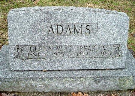ADAMS, GLENN W. - Calhoun County, Michigan | GLENN W. ADAMS - Michigan Gravestone Photos
