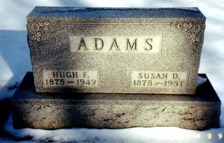 ADAMS, HUGH F. - Calhoun County, Michigan   HUGH F. ADAMS - Michigan Gravestone Photos