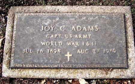 ADAMS, JOY CHARLES - Calhoun County, Michigan | JOY CHARLES ADAMS - Michigan Gravestone Photos