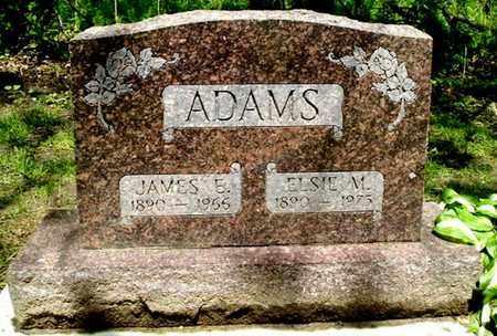 ADAMS, JAMES E - Calhoun County, Michigan | JAMES E ADAMS - Michigan Gravestone Photos