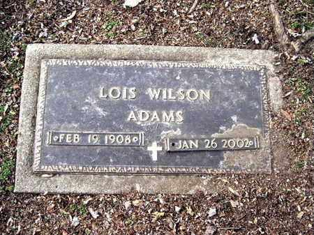 ADAMS, LOIS - Calhoun County, Michigan | LOIS ADAMS - Michigan Gravestone Photos