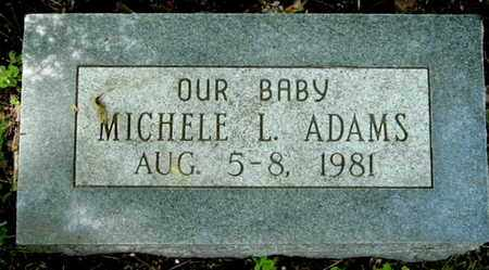ADAMS, MICHELE L - Calhoun County, Michigan | MICHELE L ADAMS - Michigan Gravestone Photos