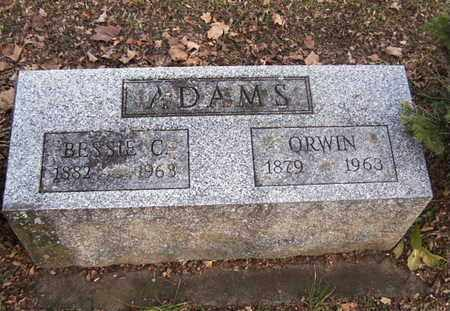 ADAMS, BESSIE - Calhoun County, Michigan | BESSIE ADAMS - Michigan Gravestone Photos