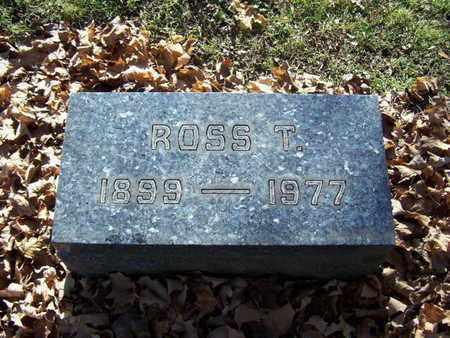 ADAMS, ROSS T. - Calhoun County, Michigan | ROSS T. ADAMS - Michigan Gravestone Photos
