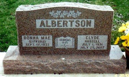 ALBERTSON, CLYDE - Calhoun County, Michigan | CLYDE ALBERTSON - Michigan Gravestone Photos